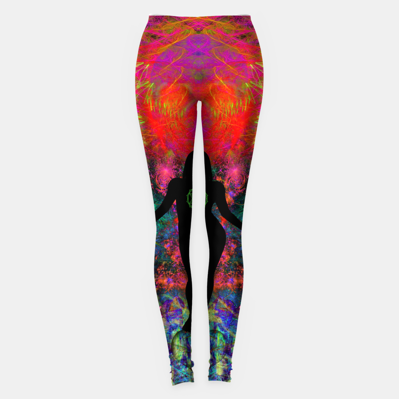 Image of Warm Thoughts From Her Heart Leggings - Live Heroes