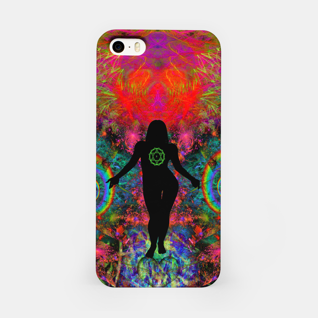 Image of Warm Thoughts From Her Heart iPhone Case - Live Heroes