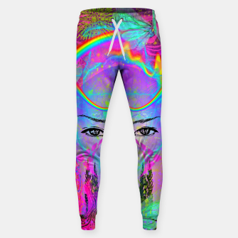 Thumbnail image of Rainbow Crystal Psychic Sweatpants, Live Heroes