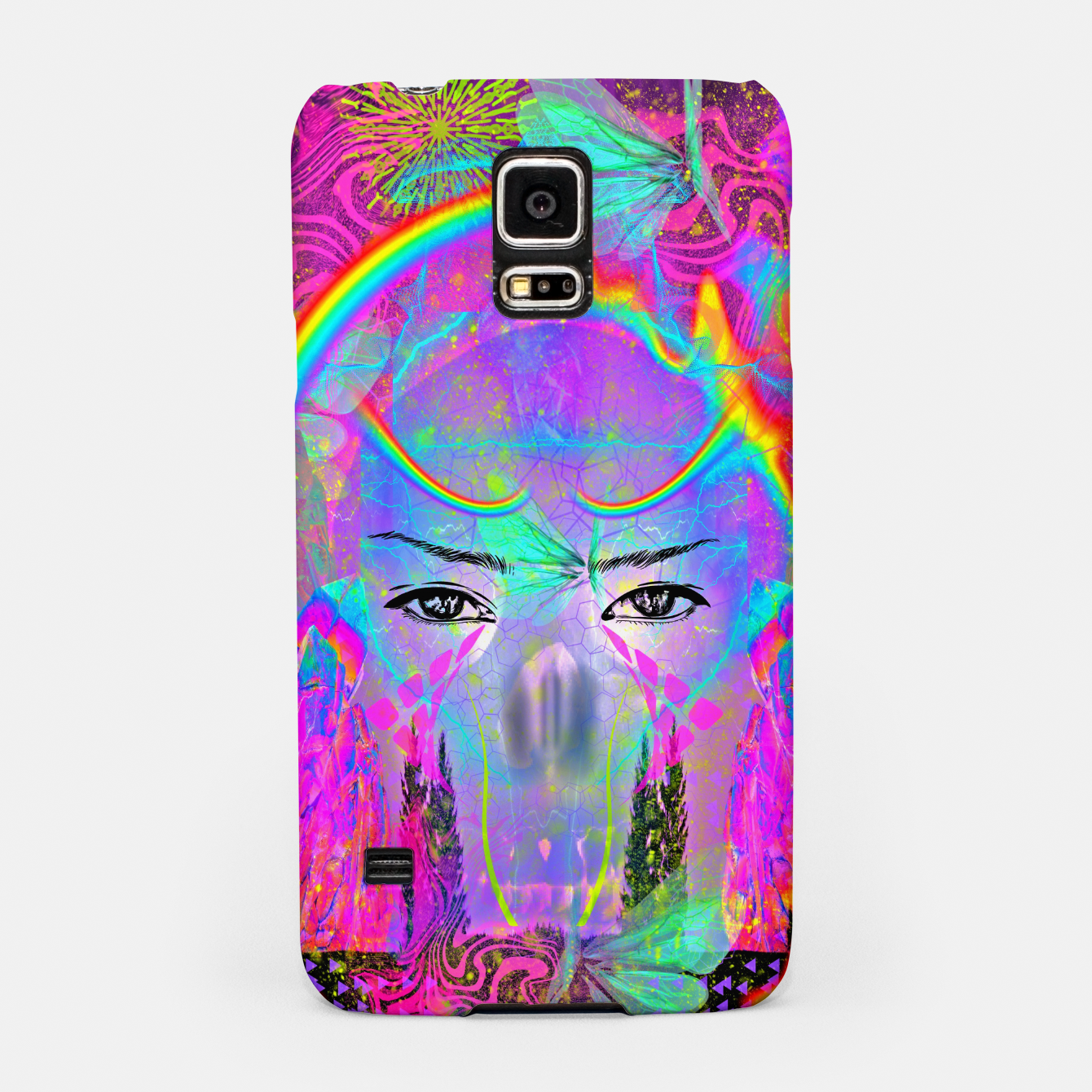 Image of Rainbow Crystal Psychic Samsung Case - Live Heroes