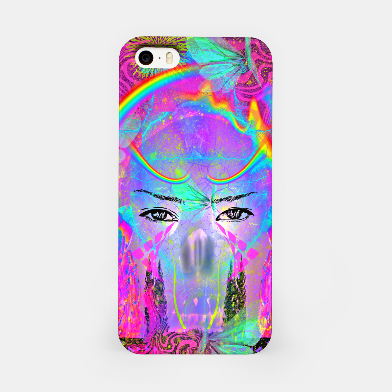Image of Rainbow Crystal Psychic iPhone Case - Live Heroes
