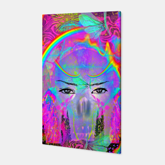 Rainbow Crystal Psychic Canvas thumbnail image