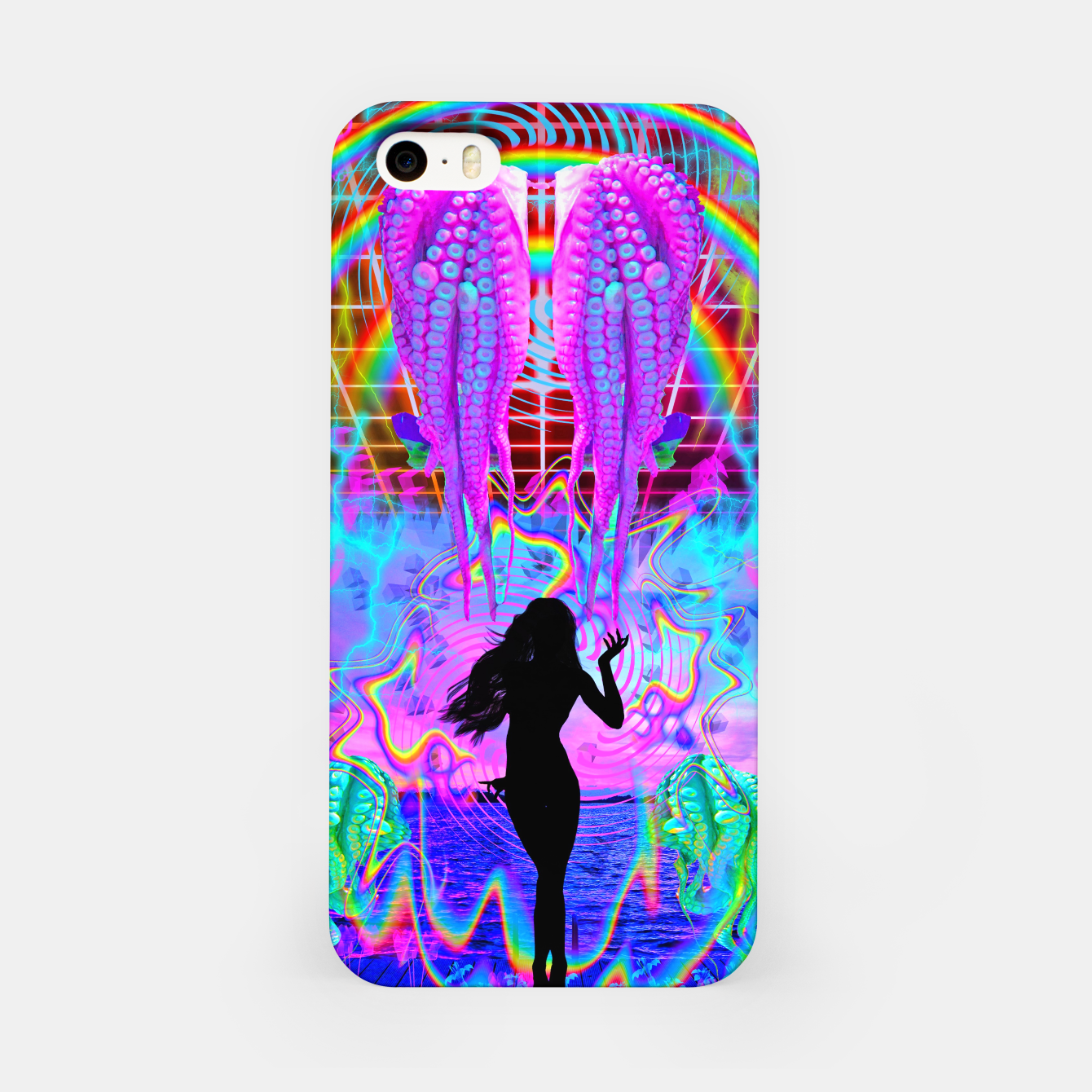 Image of Octopus Sea Witch iPhone Case - Live Heroes