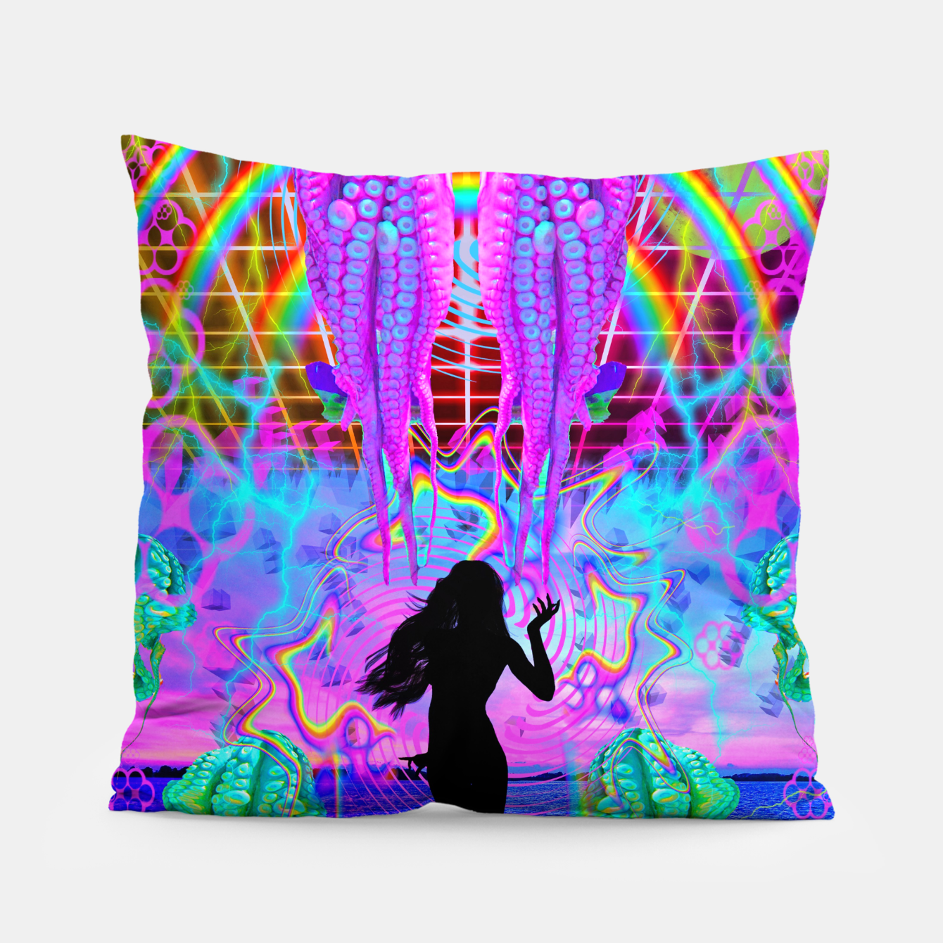Image of Octopus Sea Witch Pillow - Live Heroes
