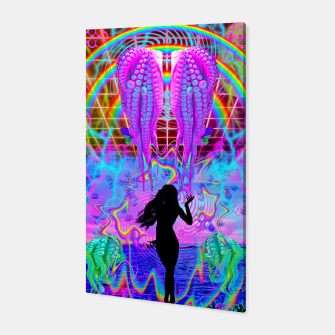 Octopus Sea Witch Canvas thumbnail image