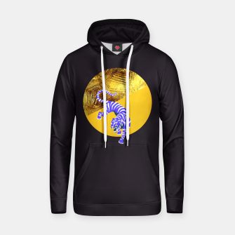 Thumbnail image of blue tiger Hoodie, Live Heroes