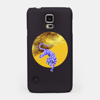 Thumbnail image of blue tiger Samsung Case, Live Heroes