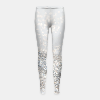 Silver Gray Glitter #3 #shiny #decor #art Kinder-Leggins thumbnail image