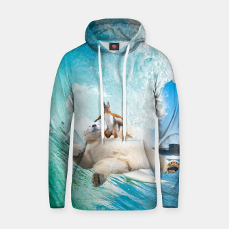 Surfing Squirrel Hoodie thumbnail image