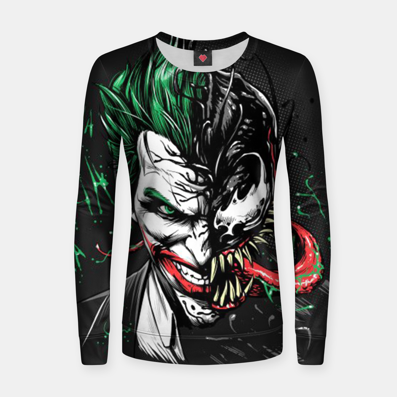 Image de The Venom Joker Women sweater - Live Heroes