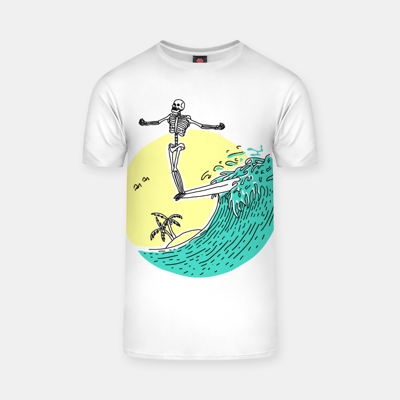 Image of Surf Nose T-shirt - Live Heroes