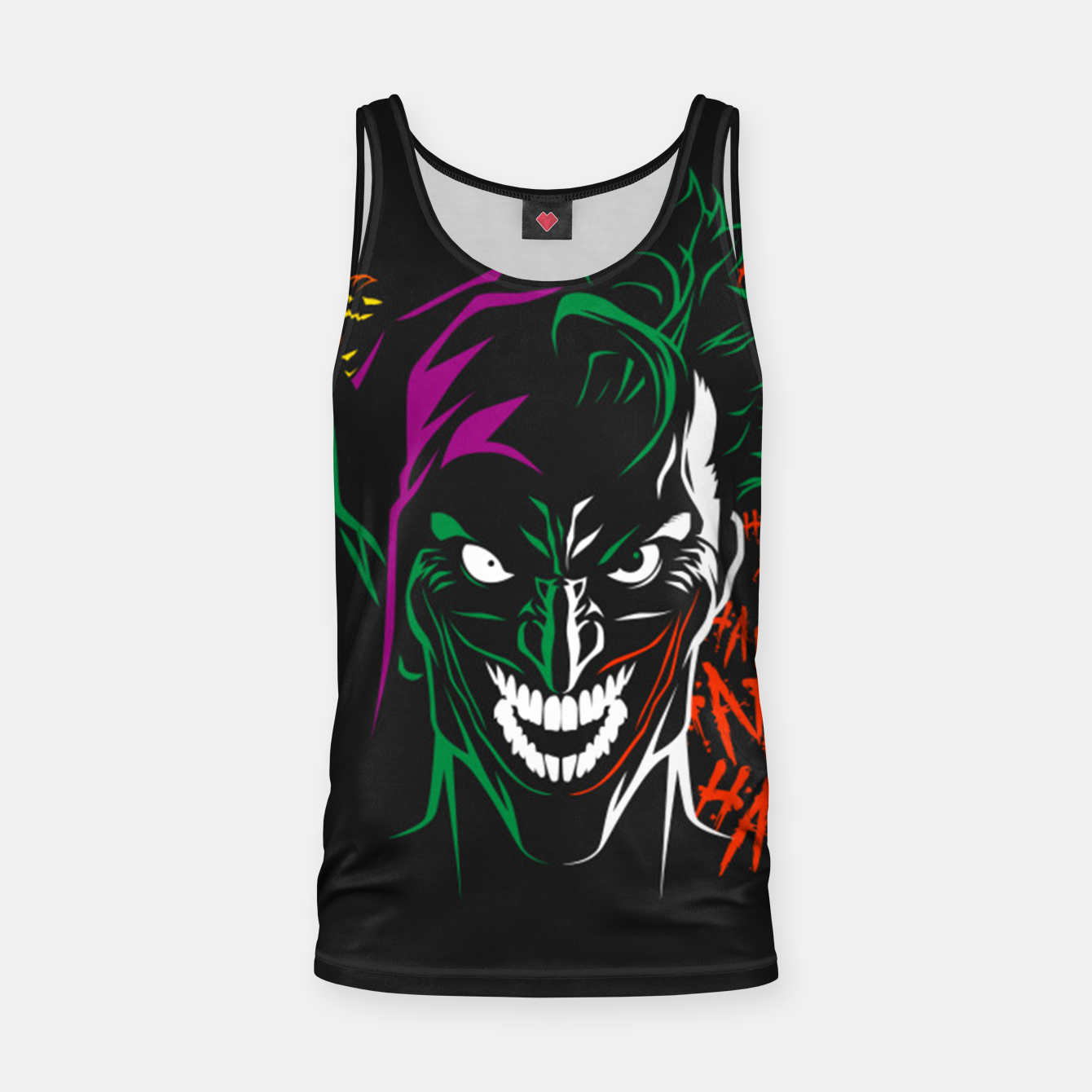 Image de The Elf Joker Tank Top - Live Heroes