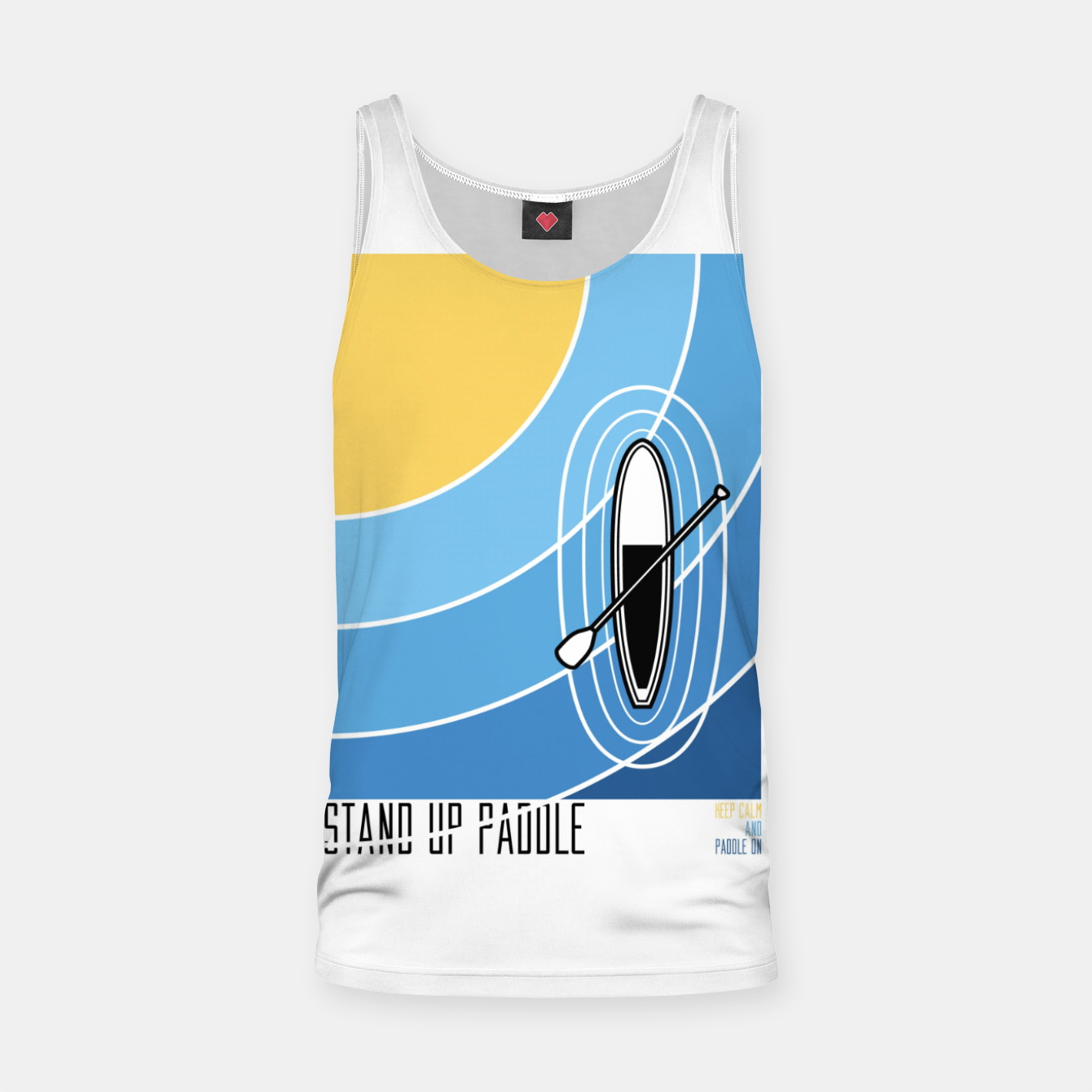 Image of Standup Paddle 1 Tank Top - Live Heroes