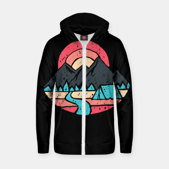 Camp River Zip up hoodie thumbnail image