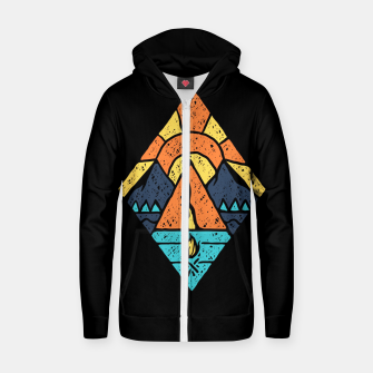 Camp Vibes Zip up hoodie thumbnail image