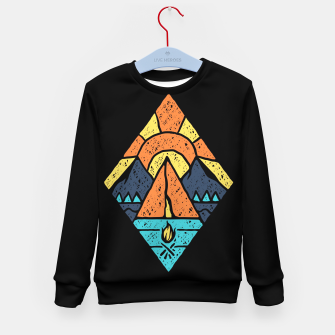 Camp Vibes Kid's sweater thumbnail image