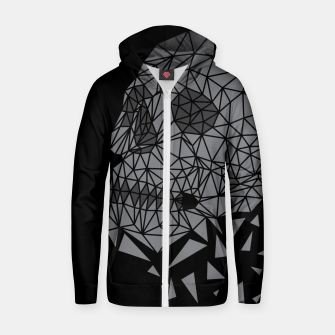 Skull Triangle Zip up hoodie thumbnail image