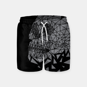 Skull Triangle Swim Shorts thumbnail image