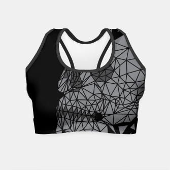 Skull Triangle Crop Top thumbnail image