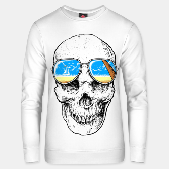 Skull Holiday Unisex sweater thumbnail image