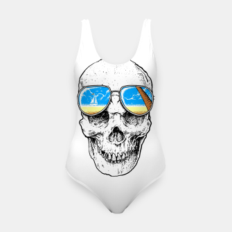 Thumbnail image of Skull Holiday Swimsuit, Live Heroes
