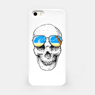 Skull Holiday iPhone Case thumbnail image