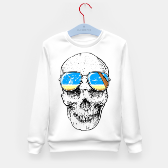 Thumbnail image of Skull Holiday Kid's sweater, Live Heroes