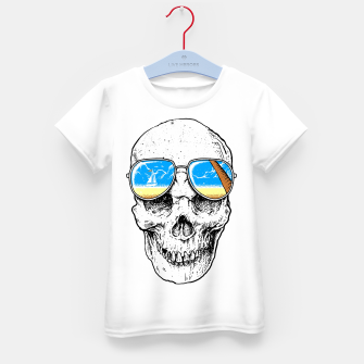 Skull Holiday Kid's t-shirt thumbnail image