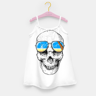 Skull Holiday Girl's dress thumbnail image
