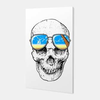 Skull Holiday Canvas thumbnail image