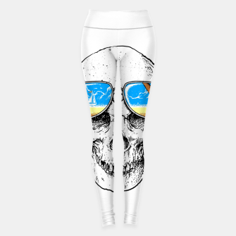 Thumbnail image of Skull Holiday Leggings, Live Heroes