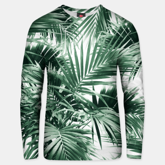 Tropical Palm Leaf Jungle #1 #tropical #decor #art  Unisex sweatshirt thumbnail image