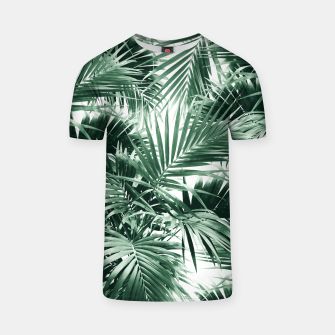 Tropical Palm Leaf Jungle #1 #tropical #decor #art  T-Shirt thumbnail image