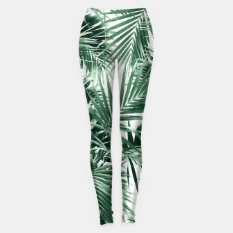 Tropical Palm Leaf Jungle #1 #tropical #decor #art  Leggings thumbnail image