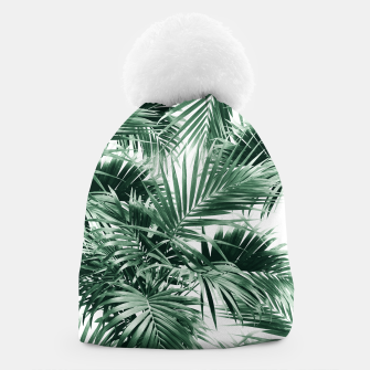 Thumbnail image of Tropical Palm Leaf Jungle #1 #tropical #decor #art  Mütze, Live Heroes