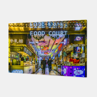 Thumbnail image of Street Food Court Market, Shanghai, China Canvas, Live Heroes