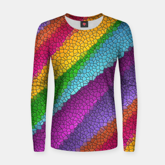 Thumbnail image of Colorful Texture  Women sweater, Live Heroes