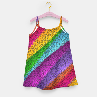 Thumbnail image of Colorful Texture  Girl's dress, Live Heroes