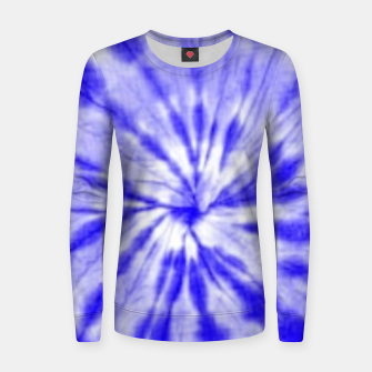 Thumbnail image of Tie Dye Women sweater, Live Heroes
