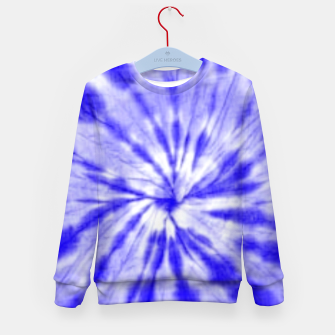 Thumbnail image of Tie Dye Kid's sweater, Live Heroes