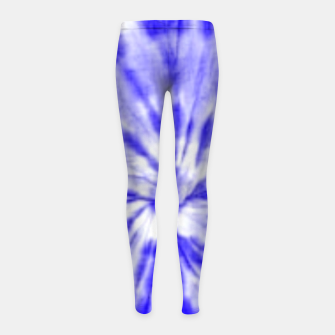 Thumbnail image of Tie Dye Girl's leggings, Live Heroes