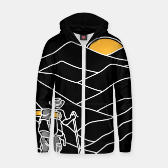 Hiking Zip up hoodie thumbnail image