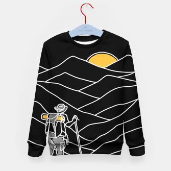 Hiking Kid's sweater thumbnail image