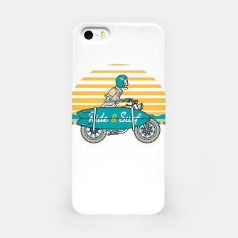 Ride and Surf iPhone Case thumbnail image