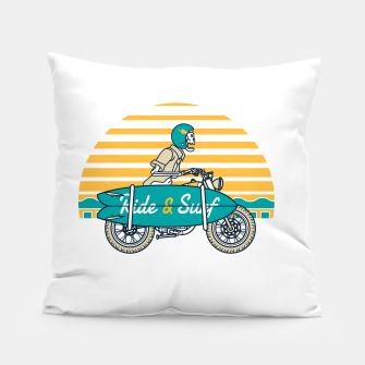 Ride and Surf Pillow thumbnail image