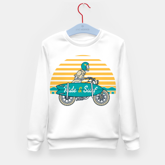Ride and Surf Kid's sweater thumbnail image