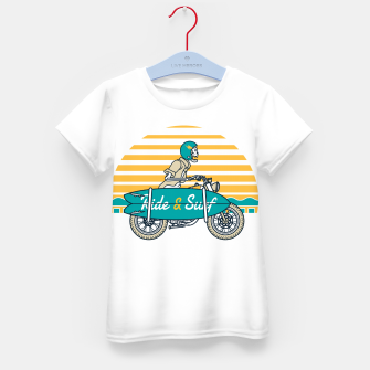 Ride and Surf Kid's t-shirt thumbnail image