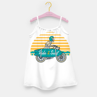 Ride and Surf Girl's dress thumbnail image