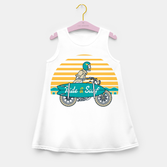 Ride and Surf Girl's summer dress thumbnail image