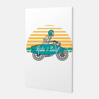 Ride and Surf Canvas thumbnail image